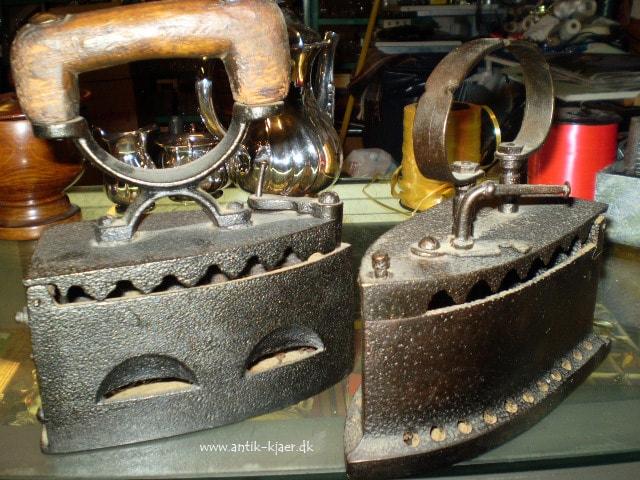 strygejern- Kjærs Antik og Genbrug